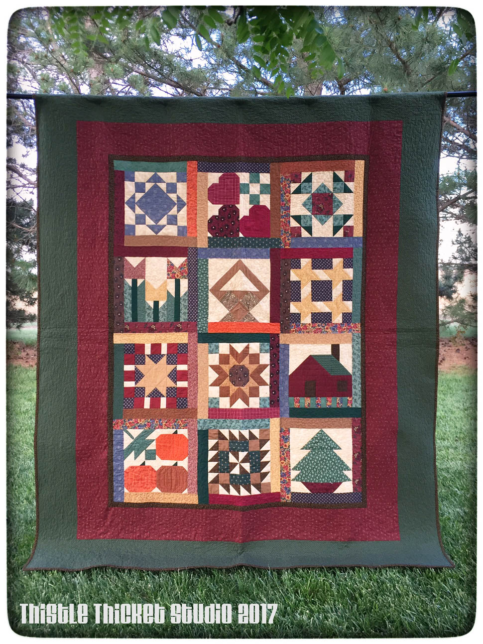 Quilting With Thistle Thicket Studio Tbt Thimbleberries