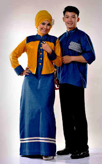 Model Baju Idulfitri Couple