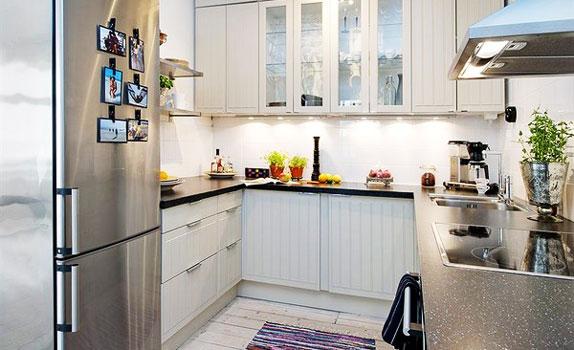 Small Kitchen Designs & Decoration Idea! | <center>Trends ...