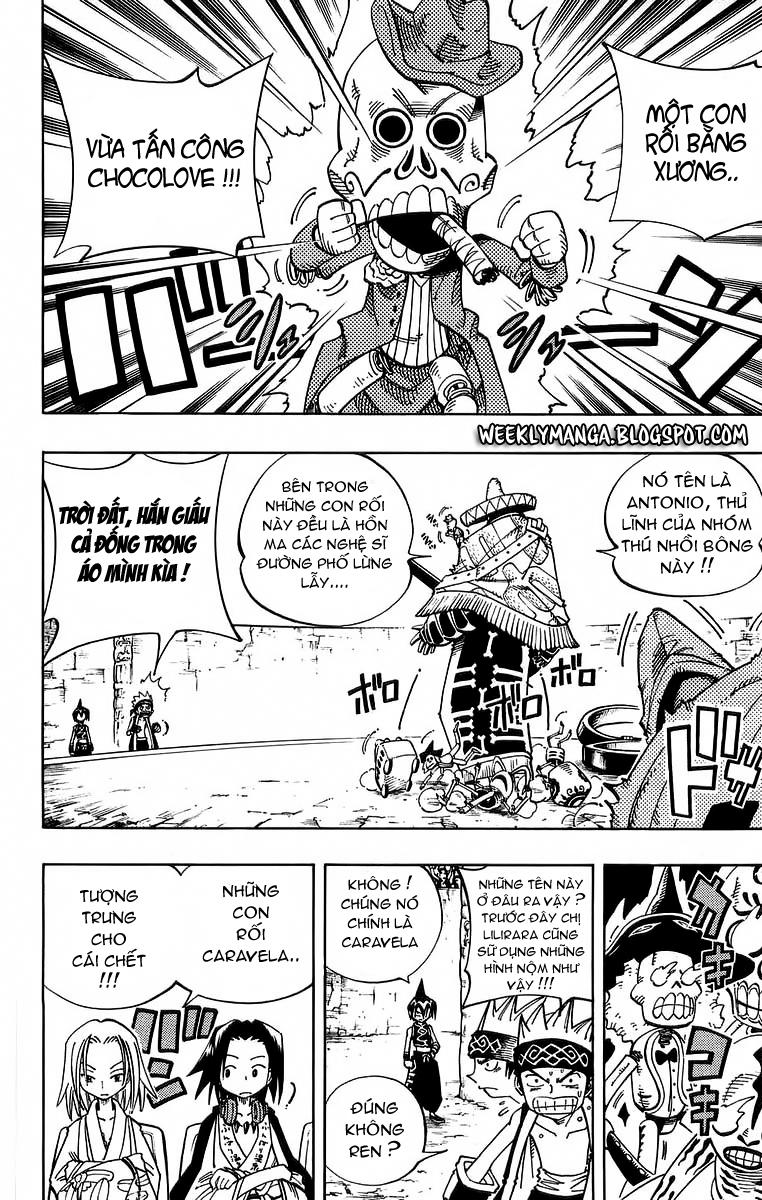 Shaman King [Vua pháp thuật] chap 115 trang 8