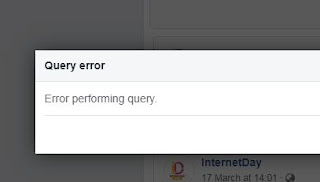 Error Performing Query Facebook