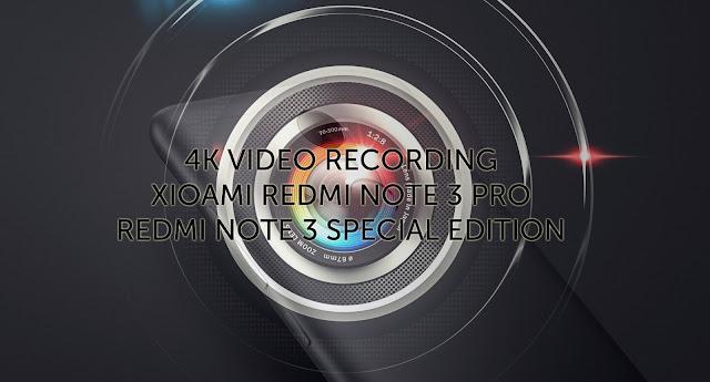 Bagaimana Cara Memunculkan Perekam Video 4K pada Xiaomi Redmi Note 3 PRO dan Redmi Note 3 SE Miui 8 MM? Berikut Tutorialnya