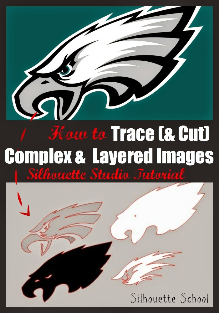 Silhouette Studio, trace, cut, complex, layered, designs