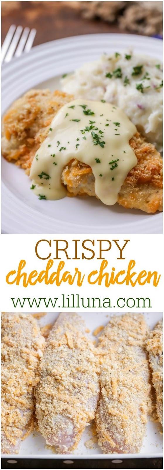 CRISPY BAKED CHICKEN #crispy #baked #chicken #dinnerrecipes #dinnerideas #dinner