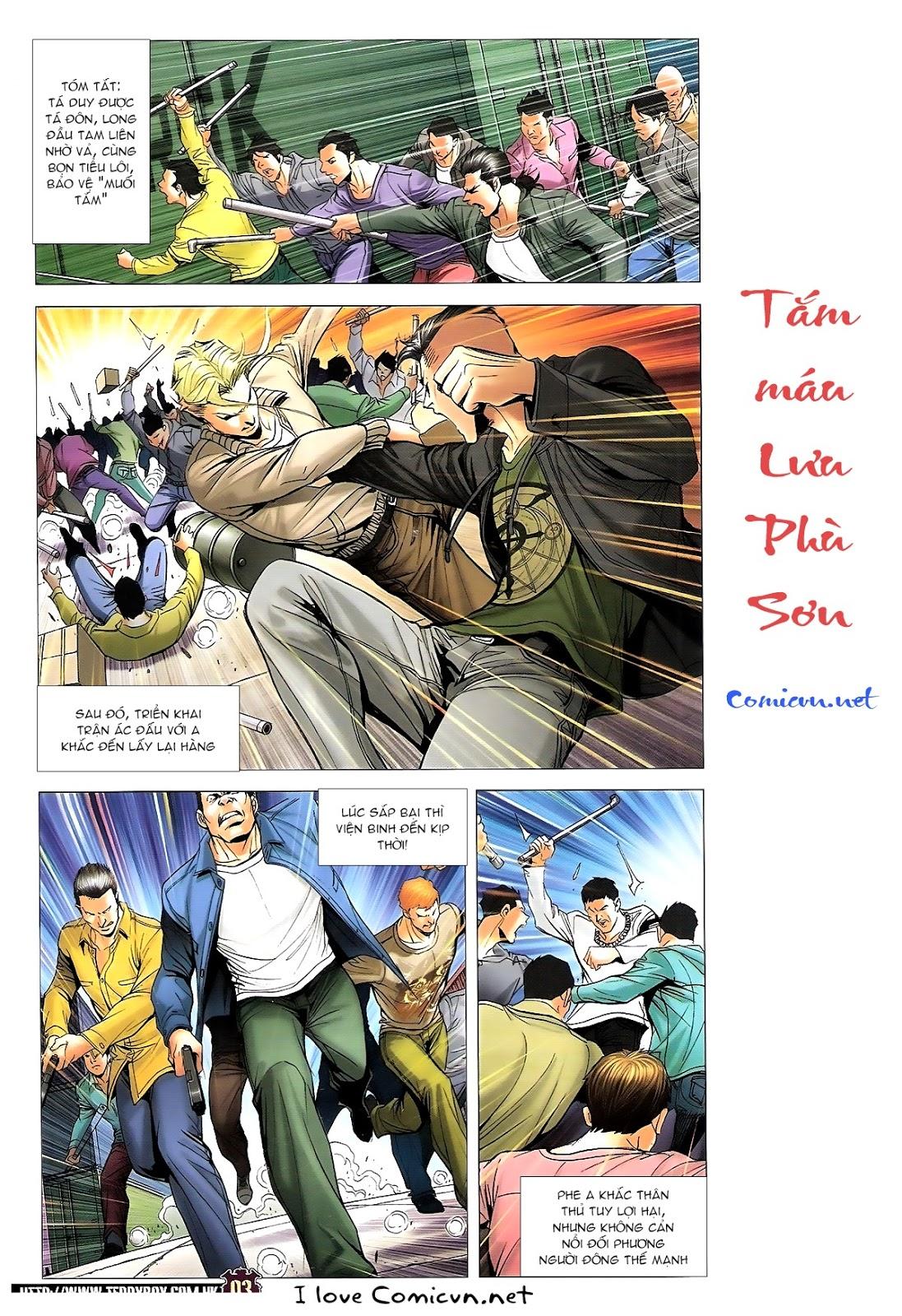 Người Trong Giang Hồ chapter 1673: tắm máu lưu phù sơn trang 2