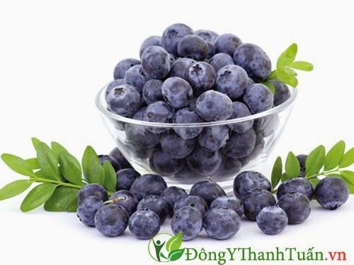 Việt quất - Thực phẩm tốt cho người đau lưng