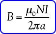 rumus induksi magnetik pada toroida