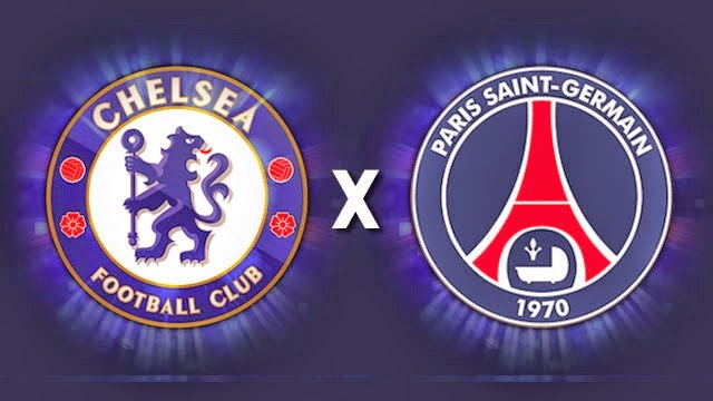 chelsea vs psg 12 Mac 2015