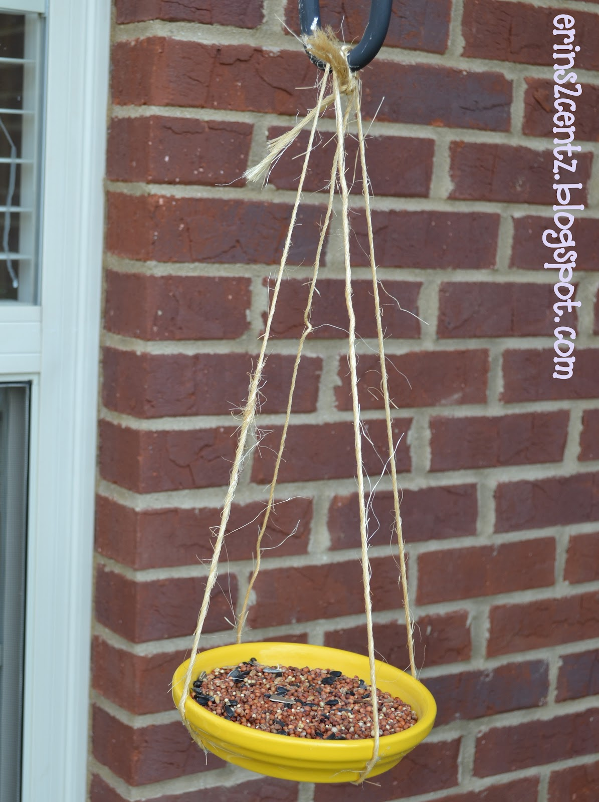 Erin S 2 Cents Easy Bird Feeder