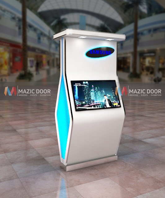 Product Display in Shopping Mall- Design 1