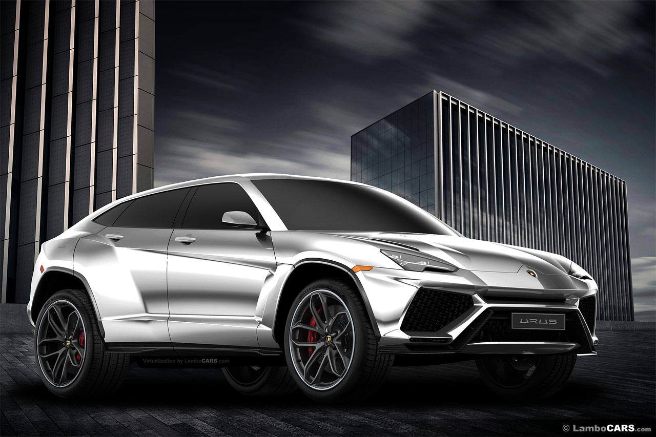 Production spec lamborghini urus may debut at shanghai auto show carscoops - Shanghai auto show ...