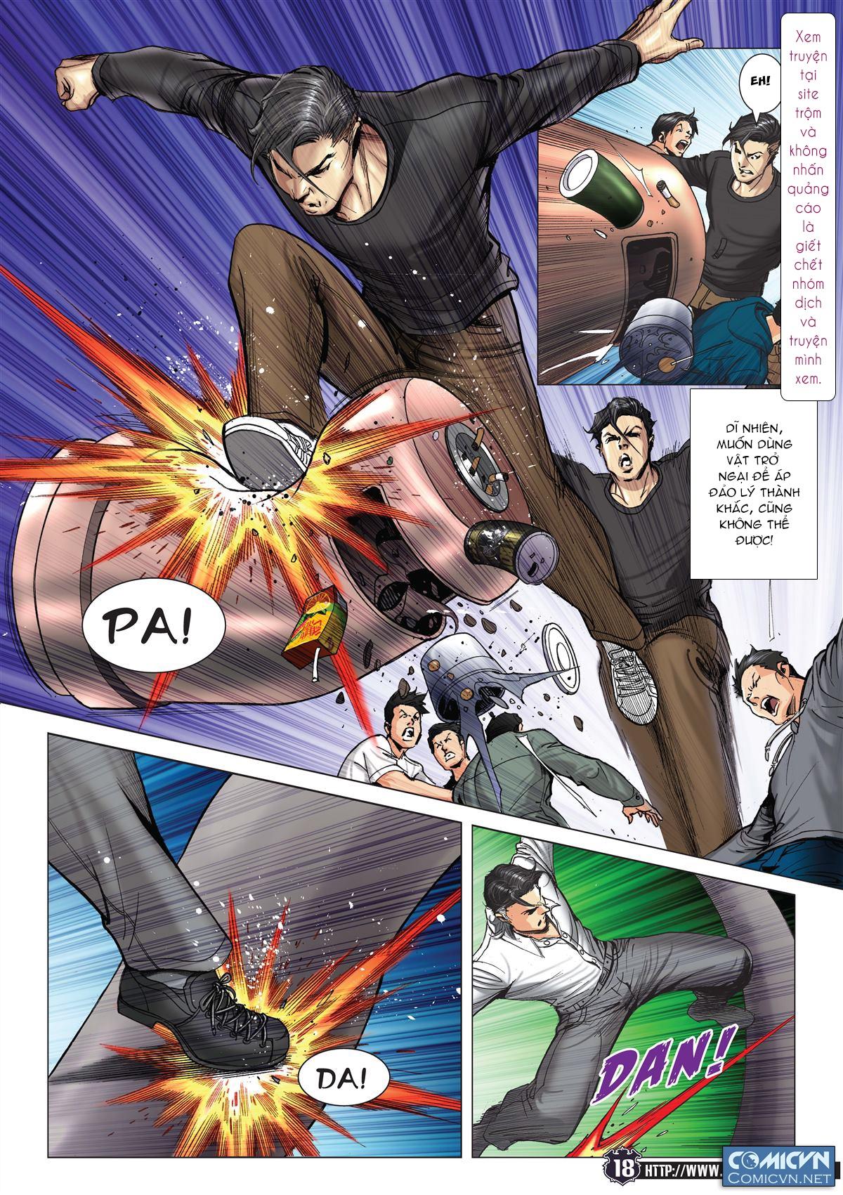 Người Trong Giang Hồ chapter 2093: nó là tay trong trang 17