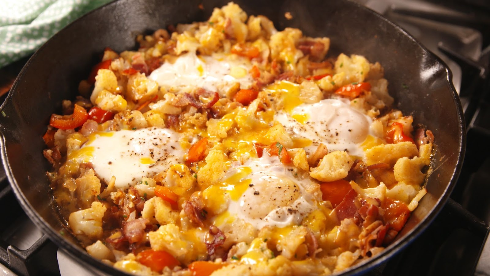 Low-Carb Breakfast Hash