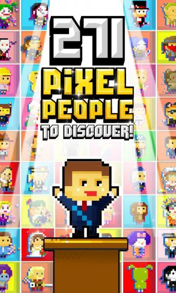 Pixel People MOD APK v1.1.4.7 for Android Jelly Bean, and Up