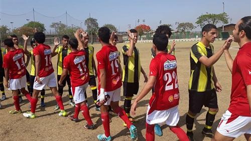 المقاولون 2002 يفوز على الأهلي 2-1 في دوري القطاعات