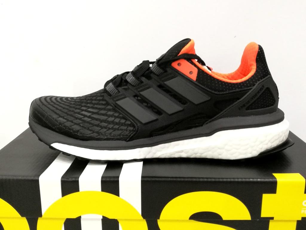 best loved 79545 e8093 adidas Energy Boost BB3452 Core Black   Utility Black   Solar Orange in  size US 8.5, UK 8, EU 42