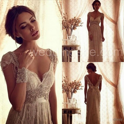 Lbd onesies a lifestyle blog go vintage with for Anna campbell wedding dress for sale