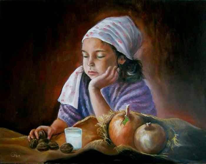 Современный венгерский художник. Osi