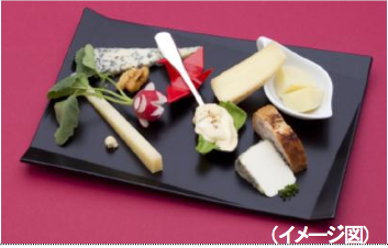 JAL First Class cheese menu for June 1 to August 31 2012