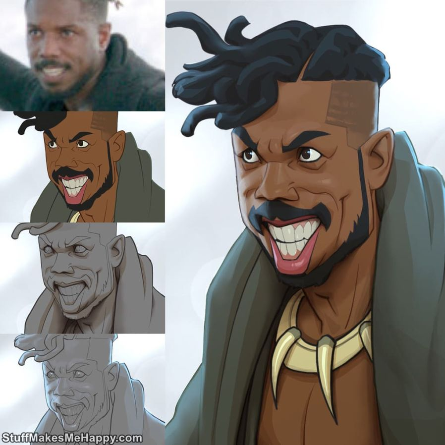 10. Killmonger, The Black Panther