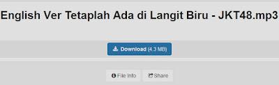 download lagu jkt48 tetaplah ada di langit biru english version clean mp3