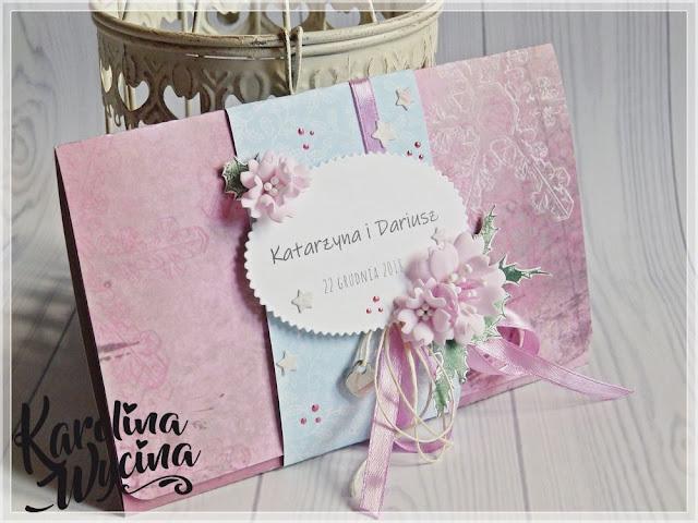 Ślubno-świąteczna kartka i życzenia