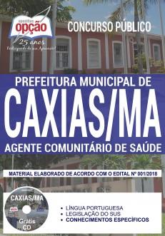 apostila Agente Comunitário de Saúde concurso prefeitura de caxias maranhão