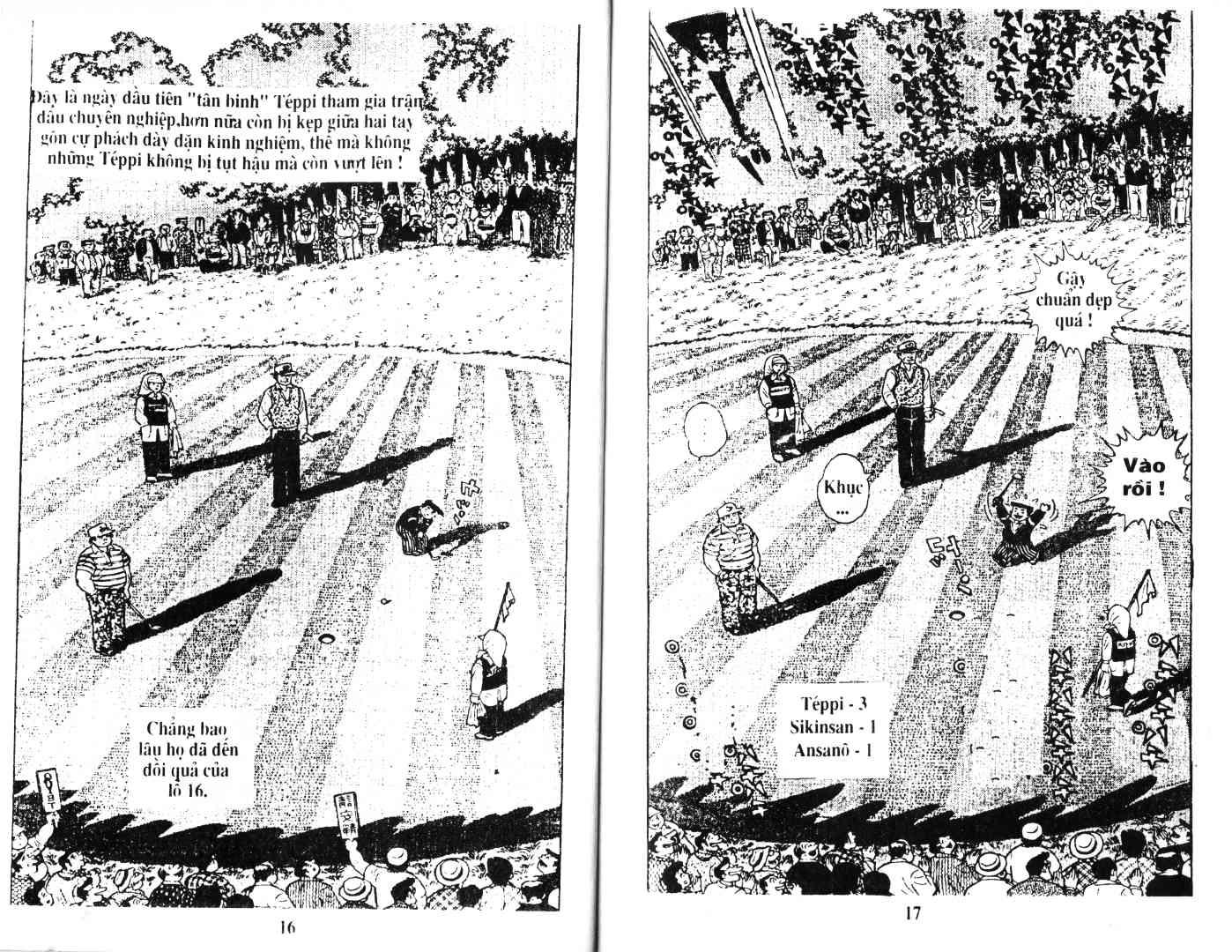 Ashita Tenki ni Naare chapter 38 trang 6