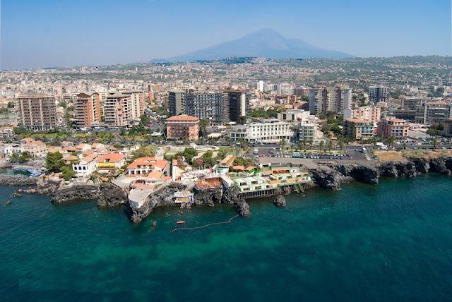 Vista da cidade de Catania
