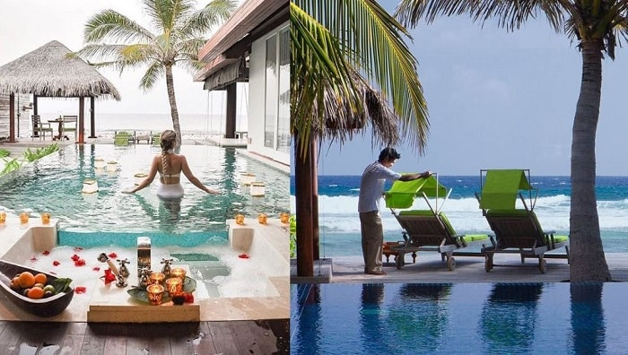 top luxury resorts, millionaires match, luxury destination