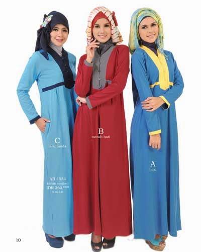 Contoh Desain Model Baju Muslim Kantor Terbaik