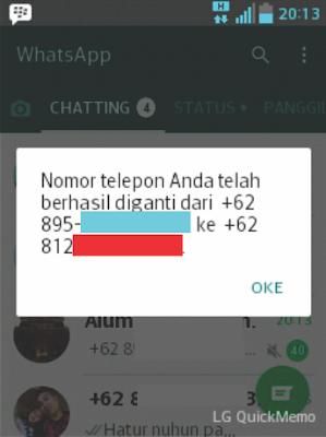 Ganti WhatsApp