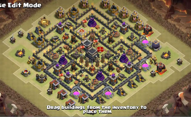 excellent th9 layout