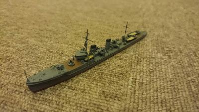 kumaの模型趣味: 第1号型哨戒艇 製作 ハセガワ三日月改造