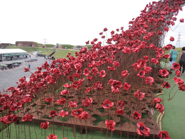Poppies: Wave at Fort Nelson