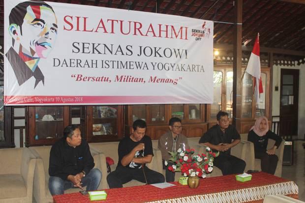 Seknas Jokowi DIY Bentuk Jaringan Relawan hingga Dusun