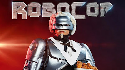 KFC's Newest Colonel Sanders is... Robocop!?