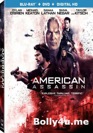 American Assassin 2017 BRRip 350MB English 480p ESub Watch Online Full Movie Download bolly4u