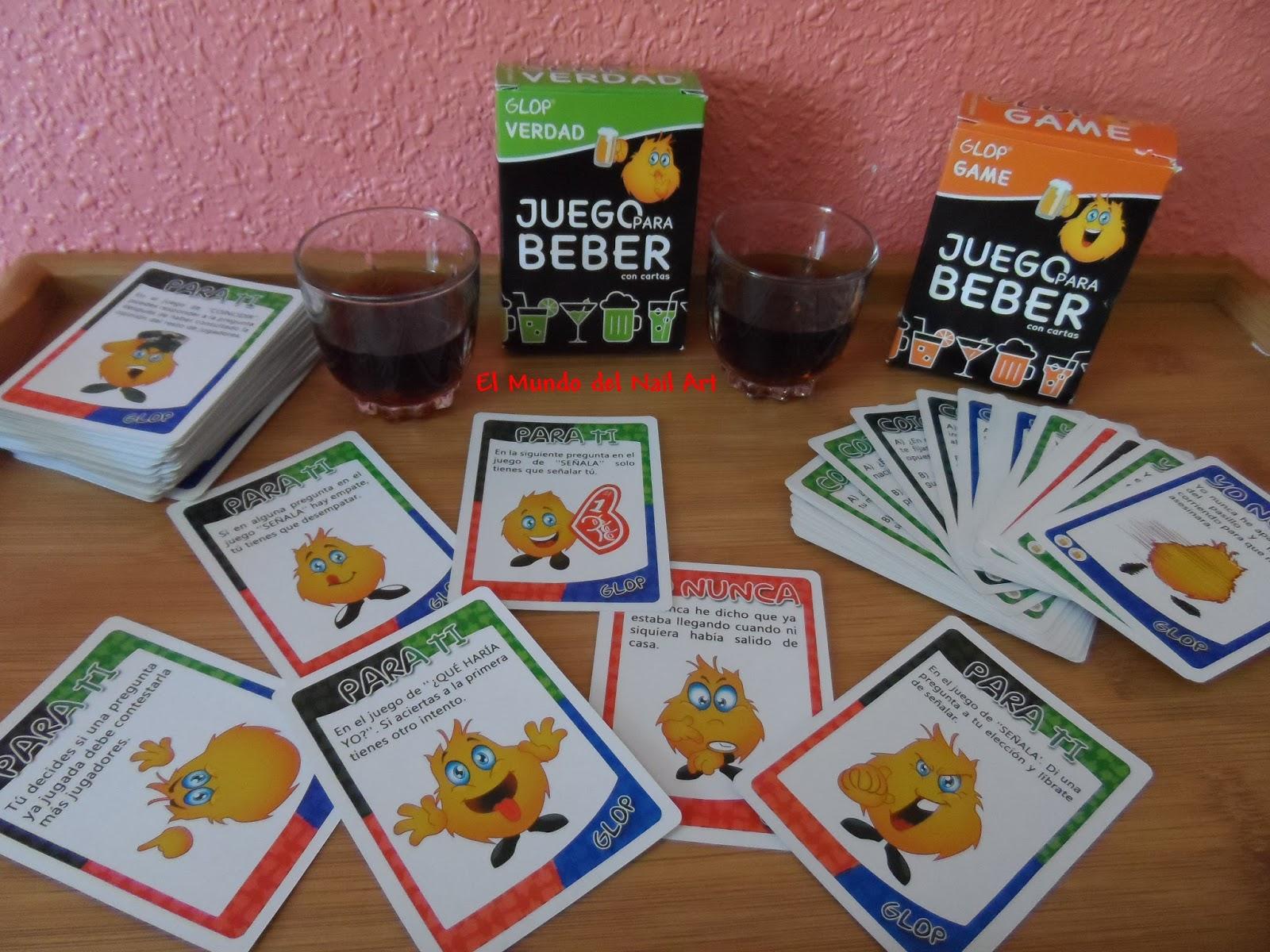 69647f966 Cada juego de cartas tienen un precio de 6,95€ y existen diferentes tipos de  barajas como: Glop Game, Glop Verdad, Yo nunca, Glop Erótico, Glop Prenda y  ...