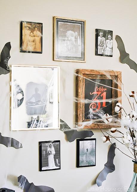 Spooky gallery wall, Halloween