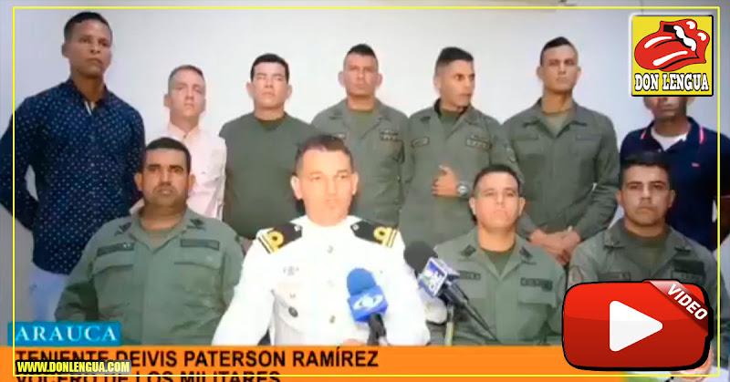 Militares sublevados envían nuevo mensaje contra el régimen
