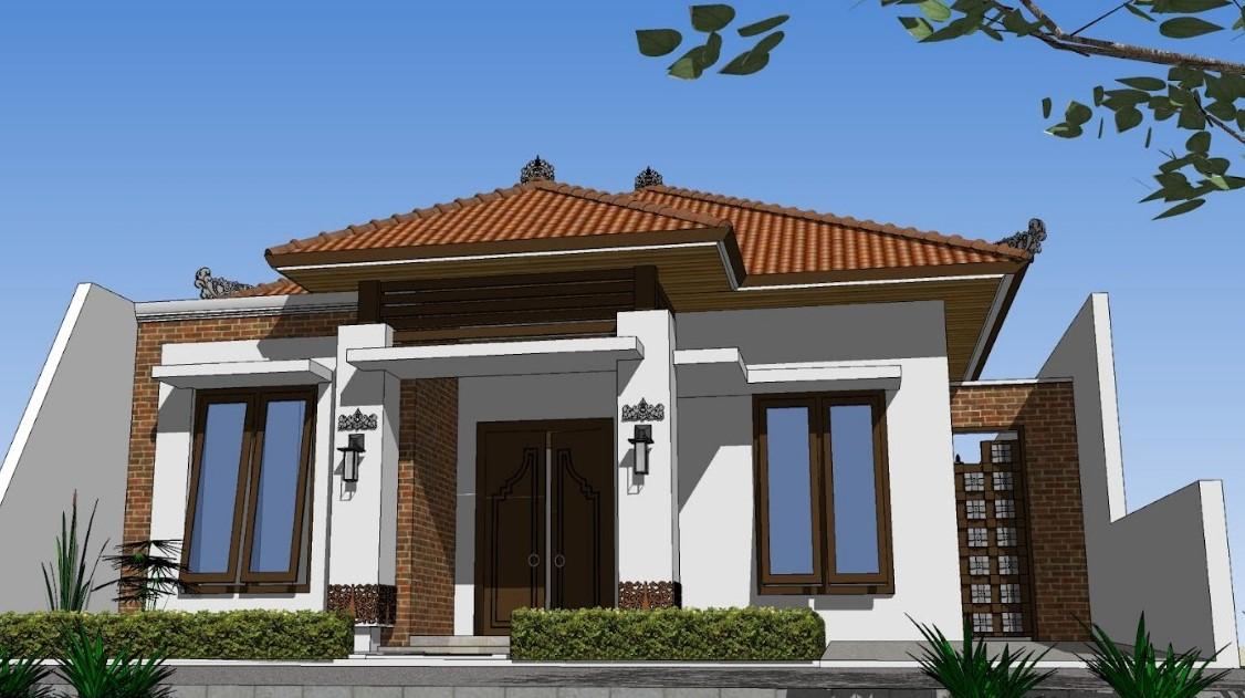 Desain Teras Rumah Joglo Minimalis  model joglo rumah minimalis situs properti indonesia