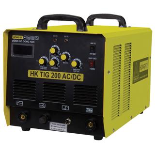 Máy hàn điện tử Hồng Ký HKTIG 200 AC/DC