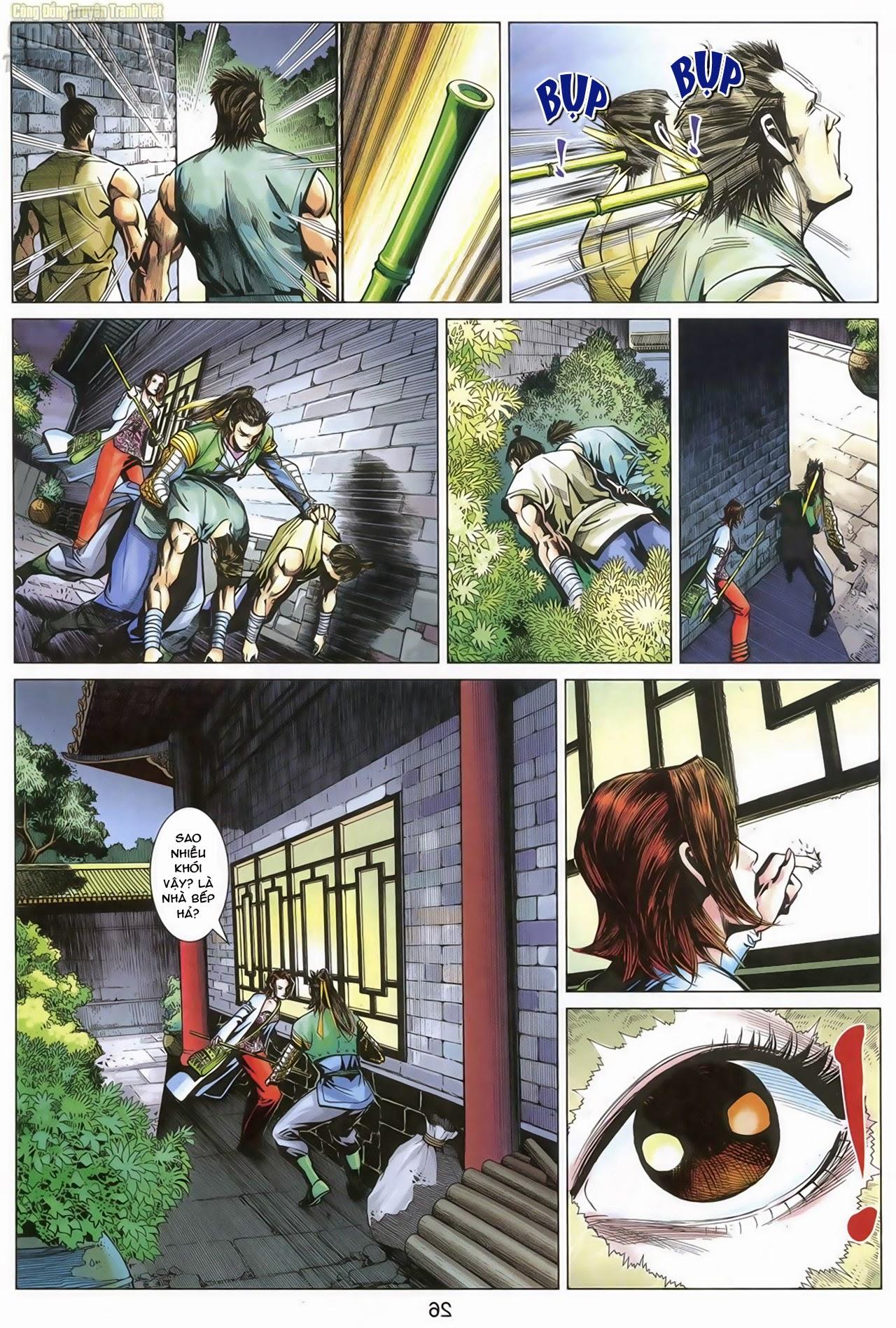 Anh Hùng Xạ Điêu anh hùng xạ đêu chap 68: di thư chân kinh - lừa tình trang 27