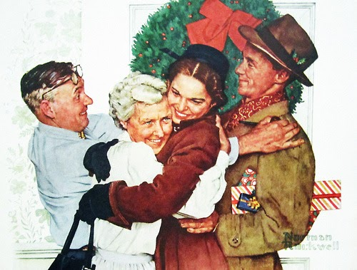 Christmas Homecoming Rockwell.The Briar Files Christmas Homecoming By Normal Rockwell