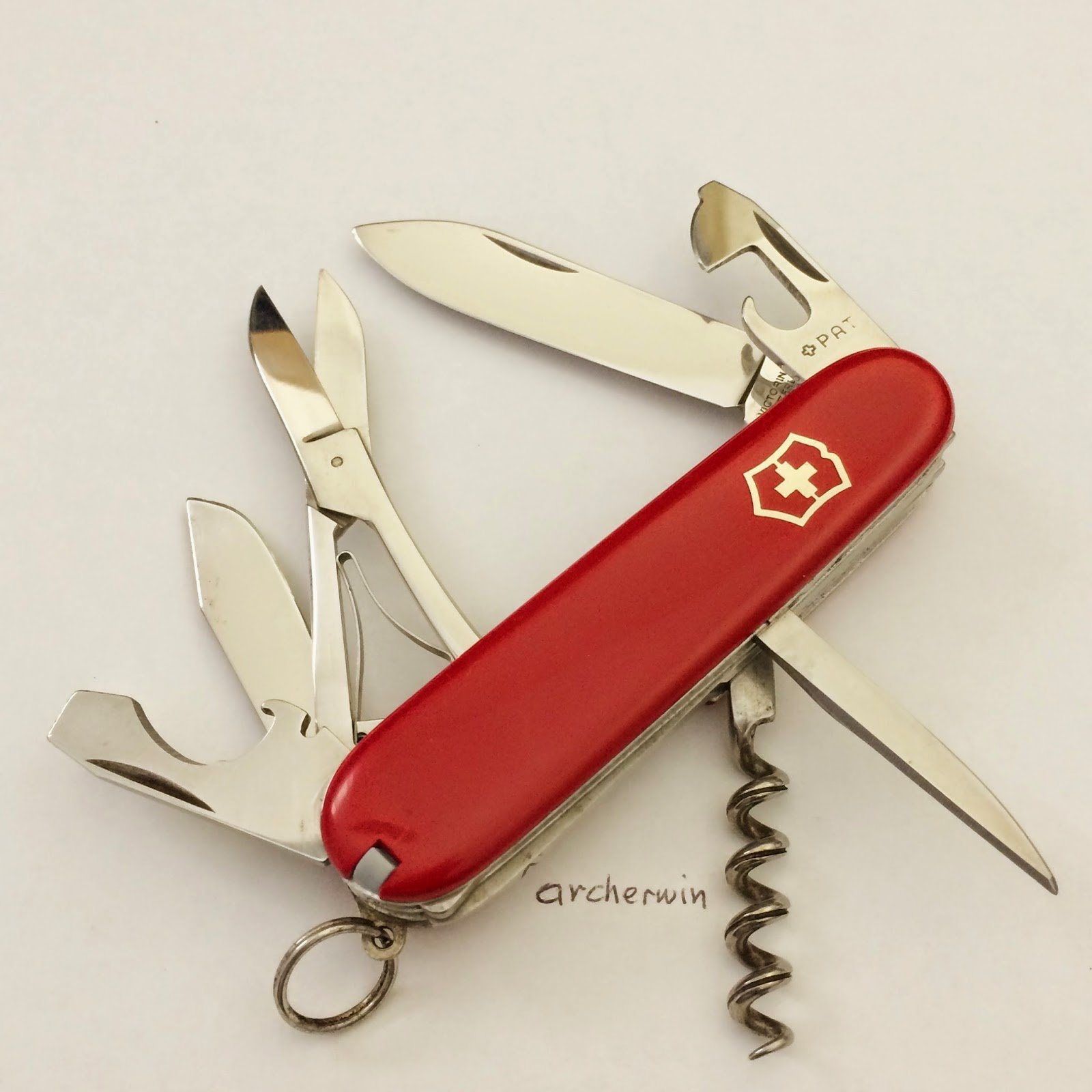 Archerwin S Swiss Army Knives Collection Victorinox Vice