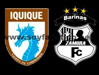 Deportes Iquique vs Zamora Copa Libertadores 2017
