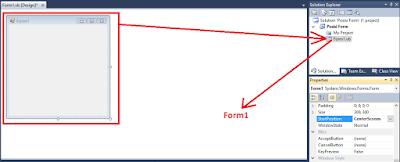 1 - #Vb.Net Part 5  – Tutorial Cara Mengganti Nama(Rename) Form