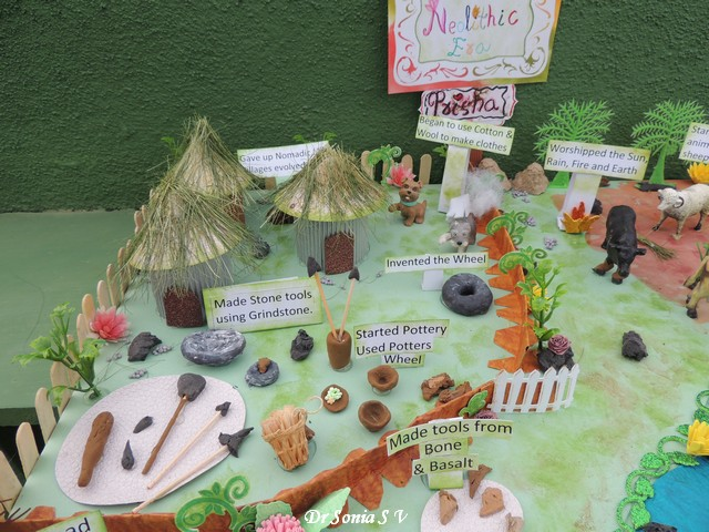 Cards crafts kids projects neolithic age school project for 3d cuisine boe