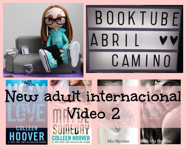 Booktube: ¡Lecturas para el verano! Romántica new adult internacional (Parte 1)